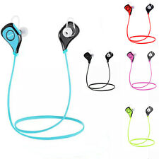 Wireless Bluetooth Headset SPORT Stereo Headphone Earphone For Phone Samsung Lot