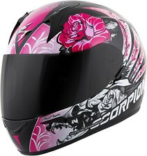 Scorpion EXO-R410 Novel - Full-Face Street Motorcycle Helmet - Black/Pink