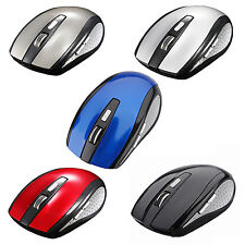 Lastest 2.4G Wireless Optical Mouse Mice + USB Receiver for PC Laptop Notebook #