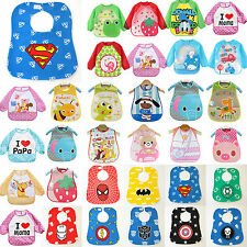 New Baby Kids Toddler Infant Boys Girls Bibs Waterproof Saliva Towel Feeding Bid