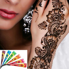 Henna Paste Colored Temporary Tattoo Paste Body Art Design Natural Plant Tattoo