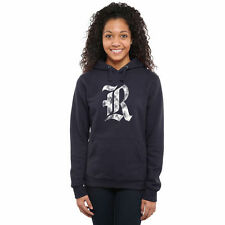 Rice Owls Women's Classic Primary Pullover Hoodie - Navy - College