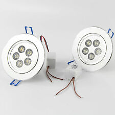 5W LED 5X1W Beads Down Light Recessed Ceiling Lamp Warm/cool White Light Lamp