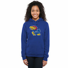 Kansas Jayhawks Women's Classic Primary Pullover Hoodie - Royal Blue - College