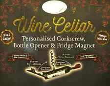 Bottle Opener/Corkscrew ~ NAMES ( K ) ~ corkscrew/bottle opener & Fridge Magnet
