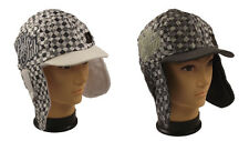 New Polo Adults Padded Peaked Trapper Hat With Ear Flaps. One Size, Winter ski