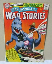 Star Spangled War Stories No.123 Dinosaur Cover Comic Book  T*