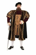 King Henry VII England Medieval Renaissance Mens Adult Size Halloween Costume