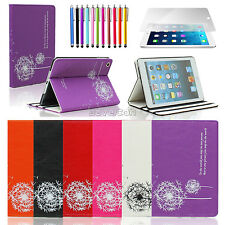 Dandelion Leather Wallet Flip Pouch Stand Folio Case Cover For iPad Mini 1 2 3