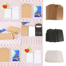 Phenovo 50pcs Kraft Paper Photo Postcard Boxes Envelope DIY Paper Crafts
