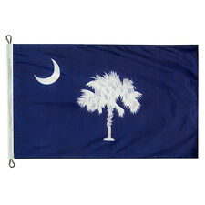 Extra Large 10x15 South Carolina State Flag Made In USA with 200 Denier Nylon