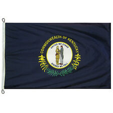 Extra Large 12x18 Kentucky State Flag Made In The USA with 200 Denier Nylon