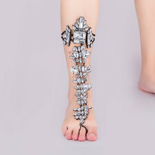 Bridal Wedding Crystal Rhinestone Anklet Ankle Foot Chain Bracelet Jewelry S7C1