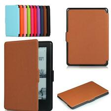 "CY-Slim Fiber PU Leather Smart Case Magnetic For Amazon 2016 New Kindle 6"" ebook"