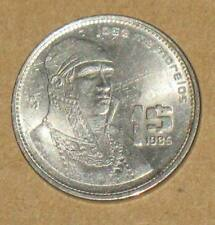 1985 Mexico $1 Coin Jose Ma Morelos Circulated