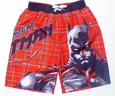 BATMAN DARK KNIGHT UV-50 Bathing Suit Swim Trunks NEW Boys Size 4/5 or 6/7  $25