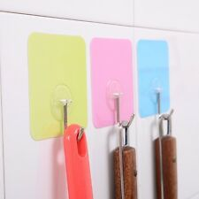 4PCS Sticker Hooks Decorating Clips Self-Adhesive Strips Cute Wall Hanging Cute