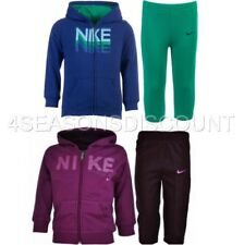 New Nike BOYS-GIRLS Baby Infant Fleece Hooded Jogging Suit tracksuit 3-36months