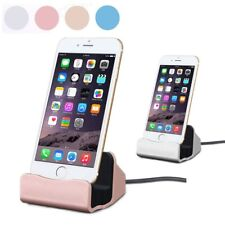 Desktop Charge STAND DOCK STATION Dock Charging Cradle for iPhone 5 5S 6 6S 7 +