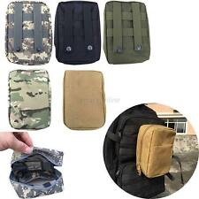 New Waterproof Tactical Medical Military First Aid Nylon Sling Pouch Bag Case
