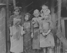 Oyster Schuckers Child Labor Group 8x10 Reprint Of Old Photo