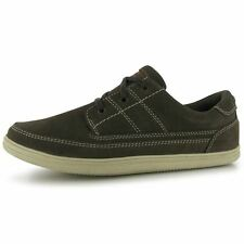 Kangol Mens Comfort Lace Up Shoes Lightweight Stitched Detailing Metal Eyelets