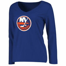 New York Islanders Women's Primary Logo Long Sleeve T-Shirt - Royal - NHL