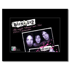 BLINK 182 - Down Matted Mini Poster - 13.5x21cm