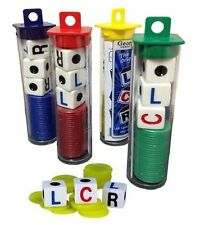 LCR Game Left Center Right Dice Family Travel Games Yahtzee Type