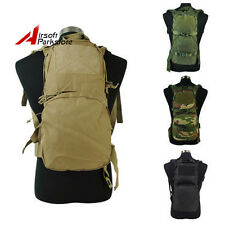 1000D 3L Molle Tactical Utility Hydration Pouch Backpack Bag 4 Colors BK/Tan/OD