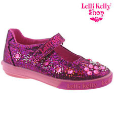 Lelli Kelly LK3110 (GW01) Rachele Purple Glitter Canvas Shoes