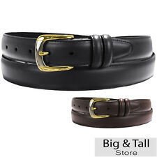 Big & Tall Men's Padded Leather DRESS BELT Sizes 46 - 66 Quality Crafted in USA