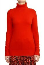 French Connection Babysoft Solid Turtleneck Sweater Royal Scarlet M/L Nwt $88