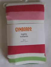 Gymboree Cheery All The Way Sweater Tights 3 4 5 6 7 NWT Stripes 3T 4T 5T Winter