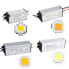 LED SMD Chip Bulb 10W 20W 30W 50W  Waterproof High Power LED Driver Power Supply