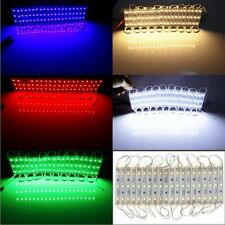 20pcs 5050 SMD 3 LED Module Lamp LED Strip String Light Decor DC 12V Waterproof