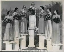 1937 Press Photo Their statuesque beauty will grace the Tournament of Roses.