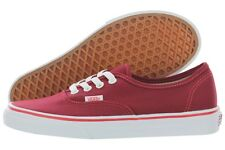 Vans Authentic Pop Check VN0004MKII0 Rhubard Canvas Shoes Medium (D, M) Mens