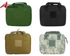 "12"" Airsoft Nylon Padded Pistol Hand Gun AEG Magazine Carry Case Bag Pouch BK/OD"