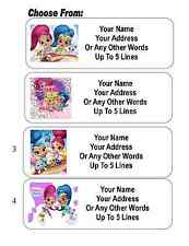 30 Shimmer and Shine Personalized Address Labels