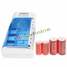 2xD Rechargeable Battery Ni-MH 1.2v+2xC Rechargeable 1.2V Ni-MH Battery+Charger