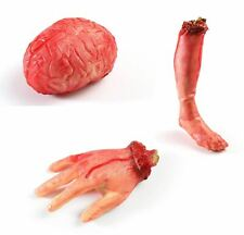 Halloween Fake Severed Body Parts Bloody Prop Horror Haunted House