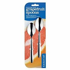 Kitchen Craft Stainless Steel Grapefruit Spoons- set of two