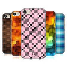 HEAD CASE DESIGNS PIXEL PATTERNS HARD BACK CASE FOR APPLE iPHONE 7 / iPHONE 8