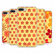 HEAD CASE DESIGNS FLORAL PATTERN SOFT GEL CASE FOR APPLE iPHONE 7 PLUS