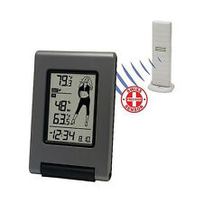 La Crosse WS-9740U-IT-CBP Wireless Temperature Station with Weather Girl