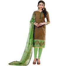 Ready to Wear Brocade Silk Salwar Kameez Suit Indian Pakistani Dres-Zareen-47001