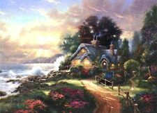 Thomas Kinkade A New Day Dawning Classic Edition 12x16 Framed Canvas