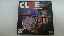 Clue Classic Mansion Murder Game Second Crime Scene Board Game missing 1 card