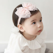 1PC Cute Kids Girl Baby Chiffon Toddler Bow Flower Headband Hair Band Headwear
